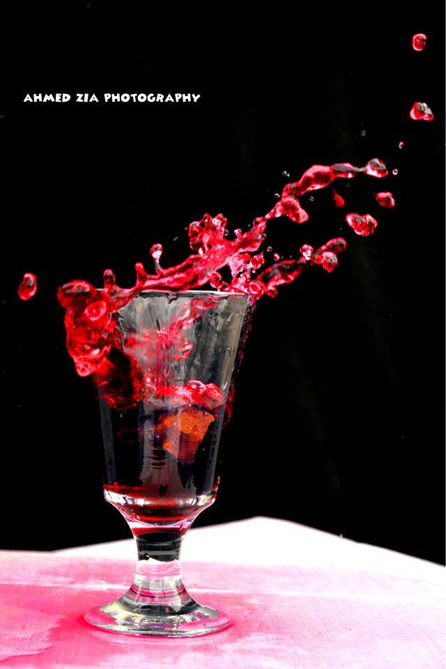 water splash photography