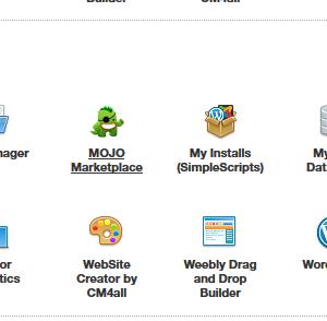 iPage.com's Control Panel
